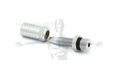 1/4 NPT Male To Reusable Hose Fitting