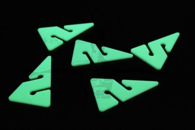 Cave Arrows X5 in a Pack (GLOW IN THE DARK)