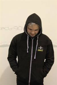 Narked at 90 Zipped Hoodie (SMALL)