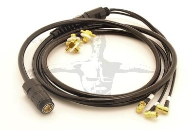 Divesoft-Freedom 3 Cell SMB (CO-AX) Cable Assembly