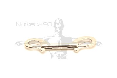 Stainless Double End Bolt Snap 100mm