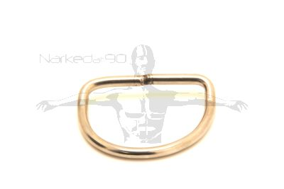 Stainless D-Ring With Bend 5mm x 52mm X 40MM