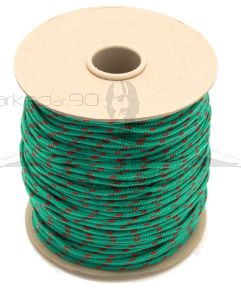 100m Coil Coloured Line Spool - Green & Red