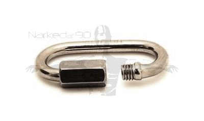 Stainless Quick Link 3.5mm x 30MM x 15mm ID