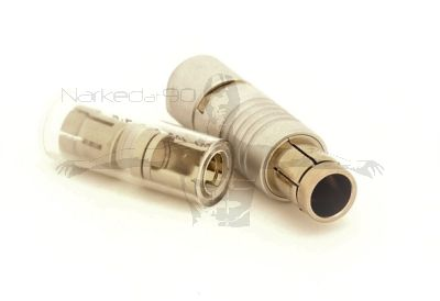 7pin Fischer Plug with Cable Collet Set to Fit 5.7mm to 6.2mm Cable